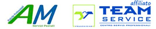 AGENZIA MARCONI SERVIZI PROFESSIONALI SERVIZI POSTALI Logo